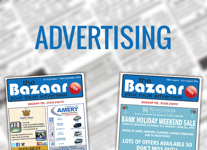 Bazaar Crewe classified magazine